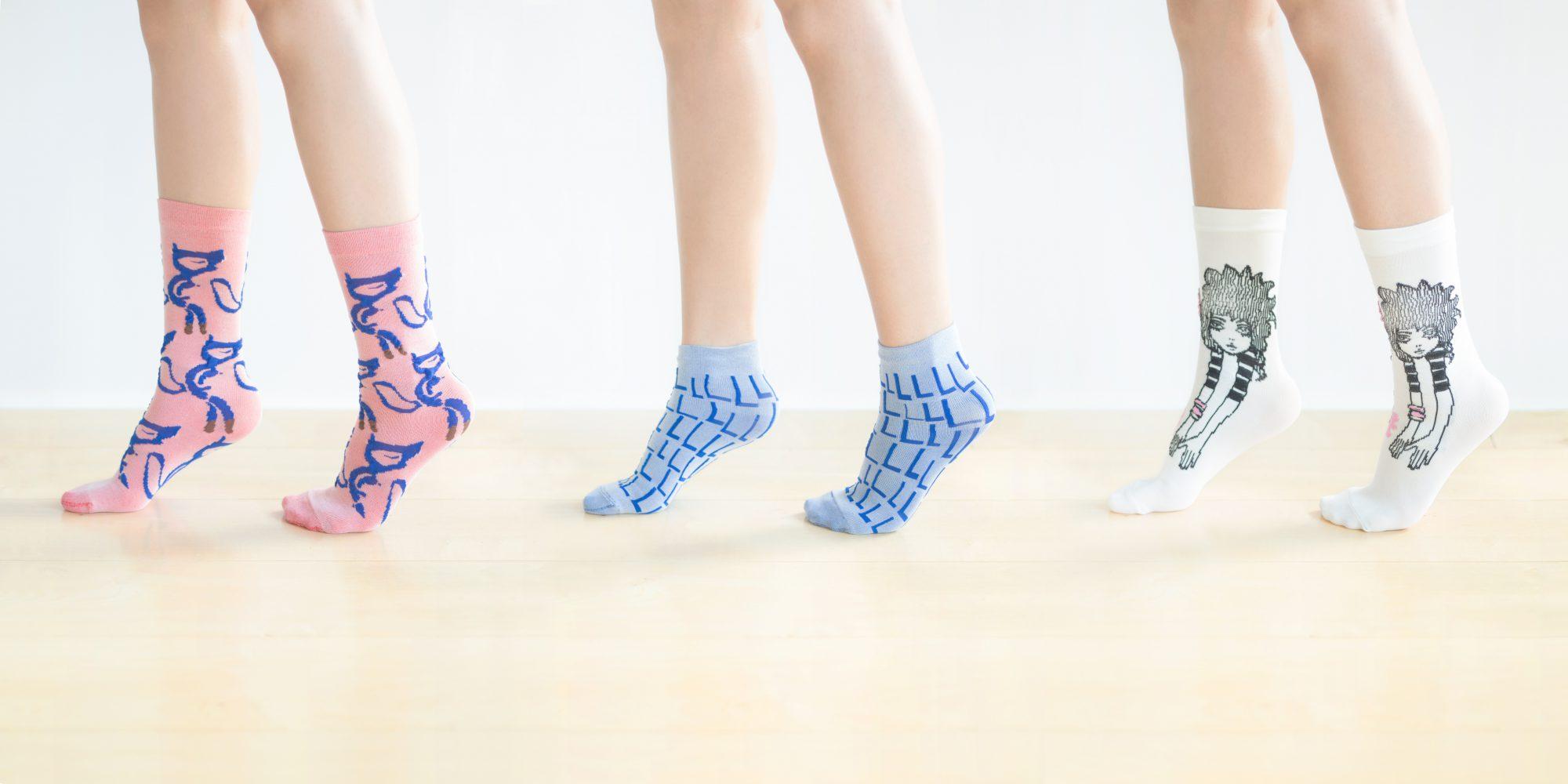 つつの靴下展