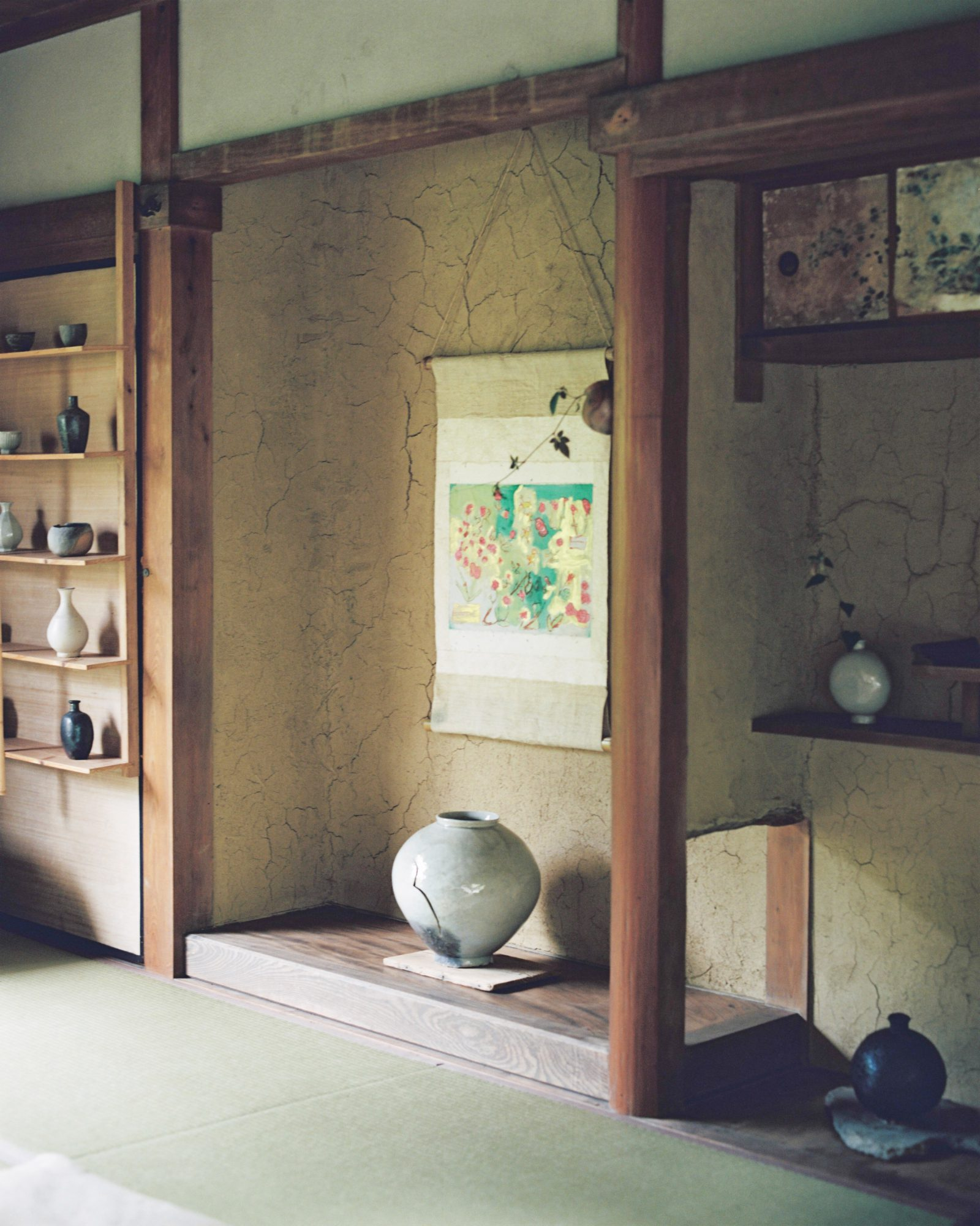 陶芸家がいる空間